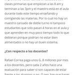 8. ¿Cual seria una solución para la educación en Paraguay? Respuesta por @benjalibre https://t.co/Q7lyBhv72P