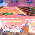 Addressing election rally in Chennai today. #ModiInTN https://t.co/VJ85I0tYF1