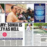 Sonia is guilty as Hell : @Swamy39 https://t.co/102oZP4bbY