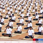HRD Ministry has asked all states to make yoga compulsory in school curriculum: Shripad Naik, MoS AYUSH https://t.co/RHDAHnBYDr