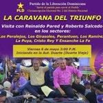Ven acompaña a tu Alcalde @SalcedoGRoberto a la Caravana del Triunfo en la Circ 2 del DN #CaravanaCirc2ConRoberto https://t.co/RIJiUVHeHA