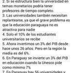 Acá el resumen de la conversación que tuve con @benjalibre hace unos días sobre la Educación en Paraguay https://t.co/R8h6XAfvn5