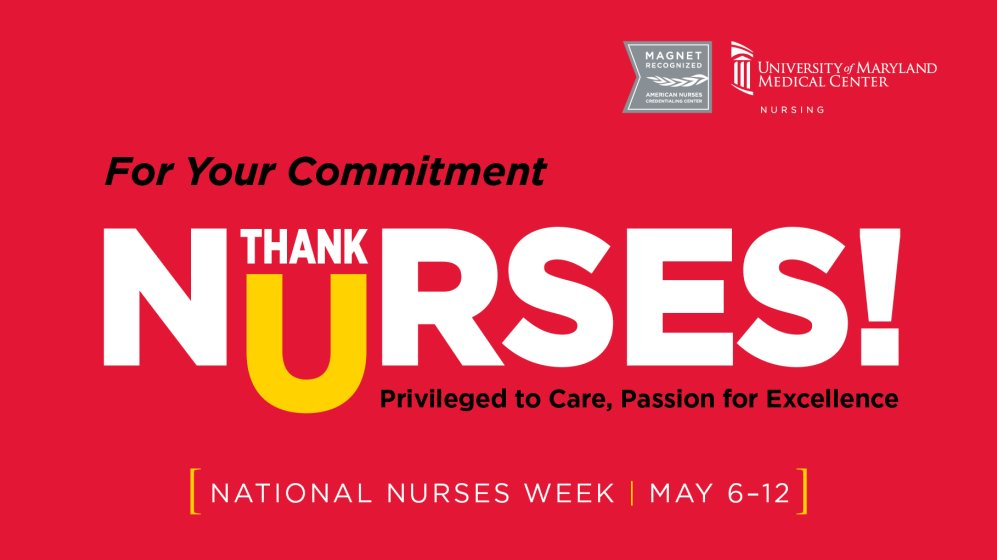 A huge thank you to all of our nurses, who always go above and beyond for out patients. Happy #NationalNursesDay! https://t.co/dyqpE1DmOu