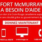 #FortMcMurray: Les personnes évacuées ont besoin de votre aide. Voici 3 façons de faire un don pour #YMMfire. Merci! https://t.co/u2s6k7UNme