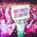 Pssst. Tier 2 tickets are 75% sold out! https://t.co/sPea1lqCHT https://t.co/oLI5hON1ky