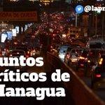 #Nicaragua: Estos son los 10 puntos de embotellamientos críticos en #Managua >>> https://t.co/2EB7ePkMs9 https://t.co/VjsYuPEyUU