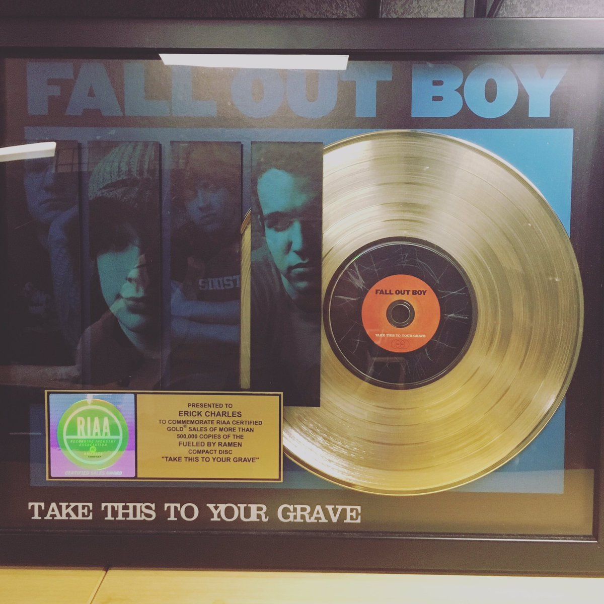 13 years ago today! @falloutboy https://t.co/SGLHfpM2HJ