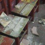 Cae parte del techo de aula en escuela cerca de la Terminal https://t.co/U13nQkLUDr https://t.co/vs9ubA9gMi