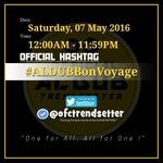 """The world is a book, and those who do not travel read only one page."" – Saint Augustine ❤️???? OHT: #ALDUBBonVoyage https://t.co/bu0XDZnGLS"