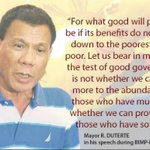 Duterte on what good governance should be LET THE PEOPLE DECIDE #LunetaDuterteCayetano https://t.co/5HYzBPe4Ok