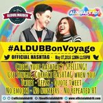 Heres wishing u a happy journey and a great time ahead.. @mainedcm @aldenrichards02 #ALDUBBonVoyage  Oht ADN.. https://t.co/YEw1P4h1CV