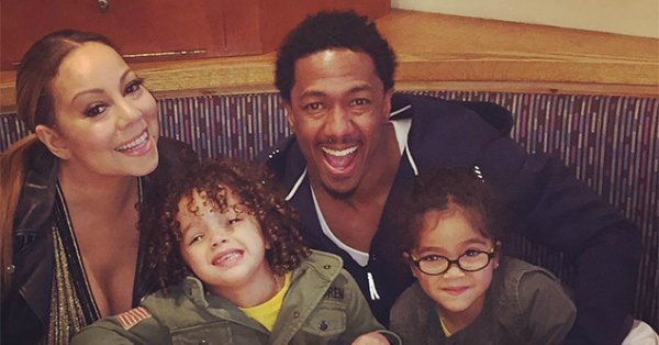 Mariah Carey & Nick Cannon reunite for a pre-Mother's Day dinner with their twins: