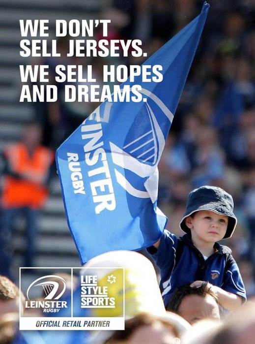 Turn the RDS into a sea of blue to show the boys in blue and the whole of @LeinsterRugby that #WeAreMany #LEINvTRE https://t.co/gKyT9sjGTU