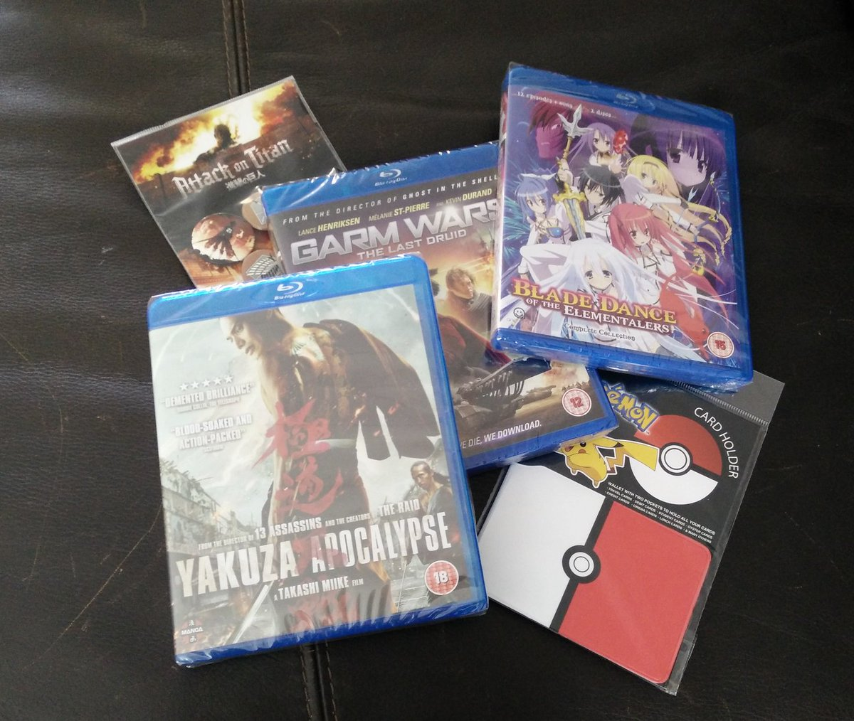 Follow & RT for a chance to win 1 of 3 prize bundles, including a #YakuzaApocalypse BD! UK only, ends midnight Sun. https://t.co/JGn5FAhGU2