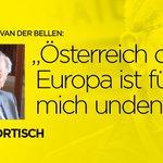 """""""Van der Bellen hat meine volle Unterstützung"""", sagt Hugo Portisch.  https://t.co/cNb6MaBtVG #Vanderbellen_wählen https://t.co/kLOfPPElCA"""