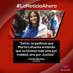 #CamilaBenitez en su oración también pidió sabiduría para los Gobernantes. #NoticiasAhora #TomaDeColegios https://t.co/6fZr04RLCF