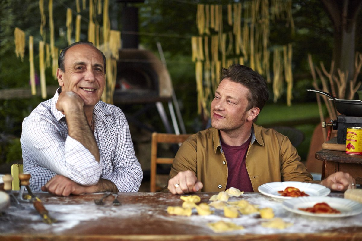 Hey gang i'm on @SaturdayKitchen this morning with @gennarocontaldo @BBCOne 10am!! get watching #FoodRevolution https://t.co/jUMo7xnVyp