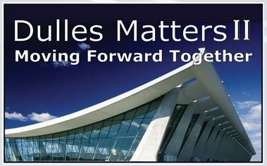 DullesMatters II at @Dulles_Airport on May 11 will include keynote by @VATranspo