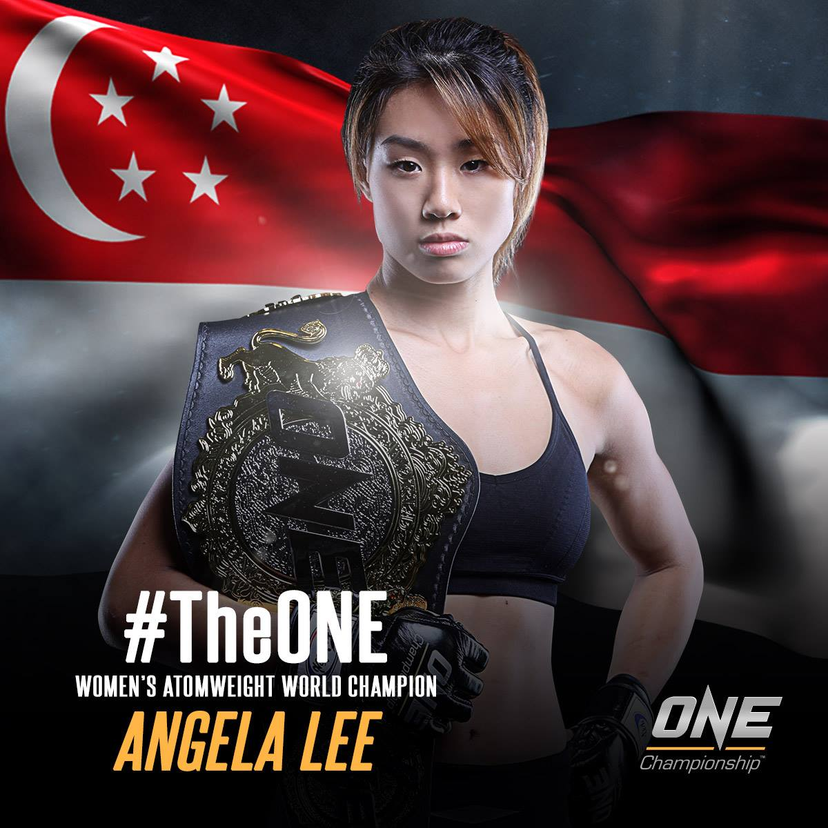 Congrats to 19 year old Angela Lee on becoming the youngest MMA World Champion in history! @Unstoppable_Lee https://t.co/F6jmwofEpO