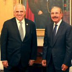 Presidente Danilo Medina recibe a Ernesto Samper, secretario general UNASUR (VIDEO) https://t.co/Ro2fP1NoLa https://t.co/Xh9KzLeHix
