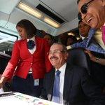 Danilo Medina conduce el Metro desde la capital a Santo Domingo Este (VIDEO) https://t.co/mm0OlFGPWj https://t.co/x4hb0sAG71