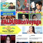 Official Hashtag of the Day For Saturday, May 7, 2016 Some pictures CTTO. #ALDUBBonVoyage https://t.co/hnF6Zb4tLv