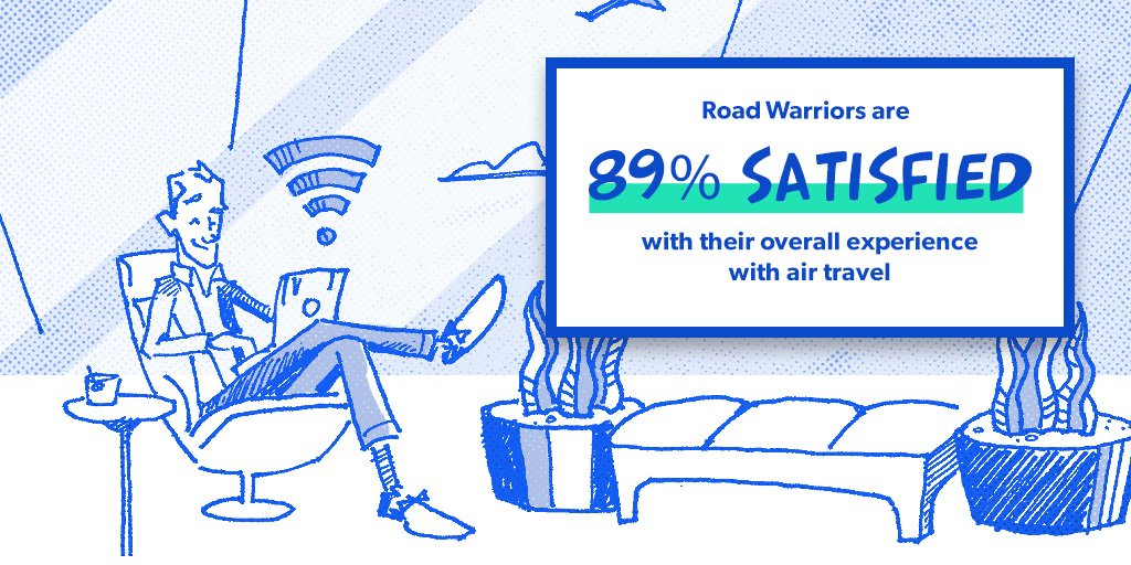 Meet the Road Warrior - always on the go and loving it. Learn more about today's flyers: