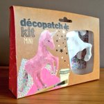 Unicorn kit £7.49. Contains unicorn, 2 sheets of Decopatch paper, brush & glue ???? https://t.co/aT5wzGP1Nt #solihull https://t.co/01YRuIWKYO