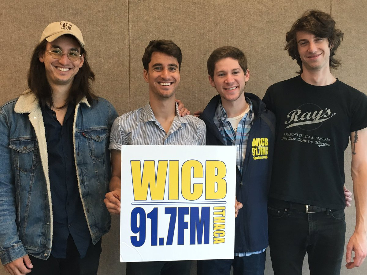 We're excited to have one of our favorite bands @FinishTicket perform at @IthacaCollege today! https://t.co/yjQP40PXX0