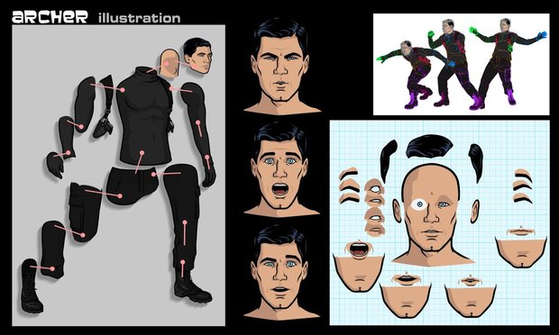 This is a very cool breakdown on the AE animation process for Archer (cc: #mochat) https://t.co/BZ4OHpTRsI https://t.co/zzZd2tkCGL