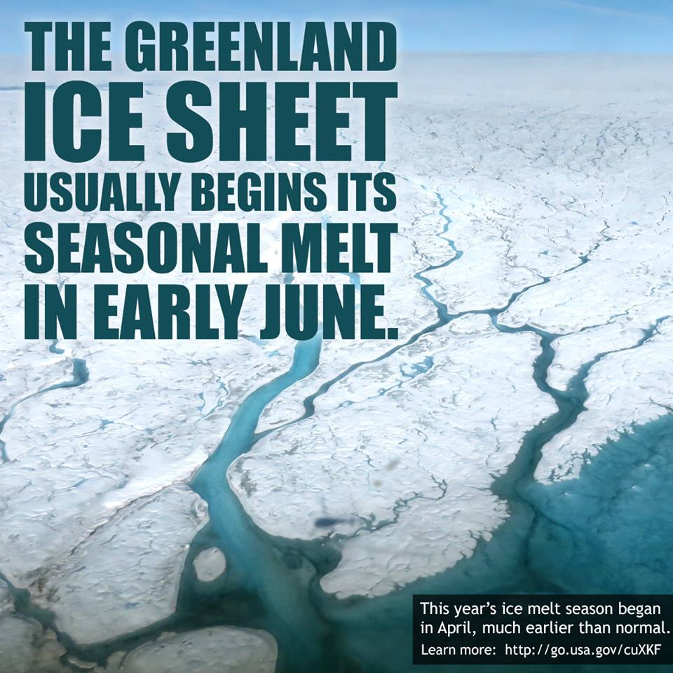 This year's ice melt started in April. That's really early https://t.co/wzkoey2Jii  #ActOnClimate https://t.co/6nt32wUth7
