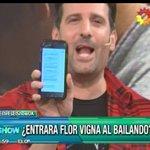 ¡Bravo! @flor_vigna confirmada para el #Bailando2016 Será compañera de @pedroalfonsoo cc @SoyListorti @paulitachaves https://t.co/QijbdK0bCz