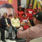Rueda de Prensa con los candidatos de #LaNuevaMayoria en la provincia Duarte. https://t.co/0AurpgTNA3