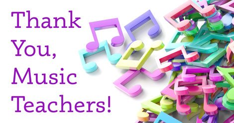 We value music teachers EVERY week, but as this appreciation week closes, help us by thanking your music teacher! https://t.co/V9Clnj28ai