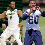 Two months ago, Rico Gathers was playing basketball in the NCAA Tournament. Now, hes a TE at Cowboys rookie camp. https://t.co/xpw9BdNmpN
