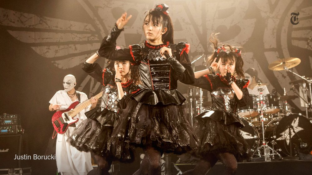.@BenRatliff on Babymetal a Japanese band that melds metal with a large dose of cuteness https://...