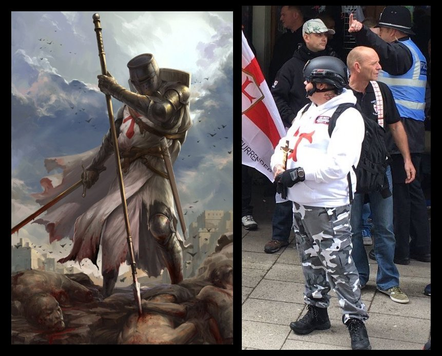 Uncanny!! #coventry #edl https://t.co/ulWZLbl5NS