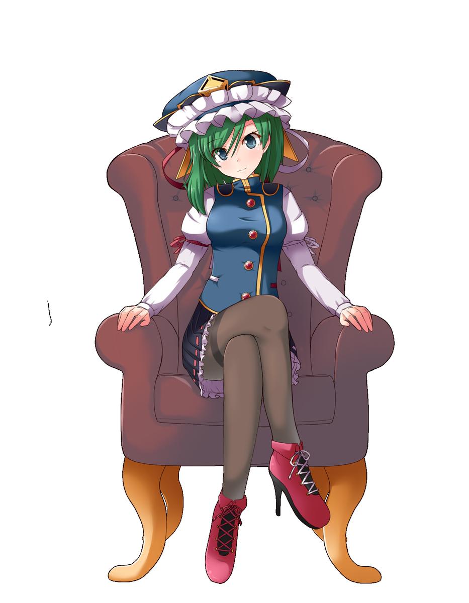 座ってる映姫さま https://t.co/4HlpRHVRl1