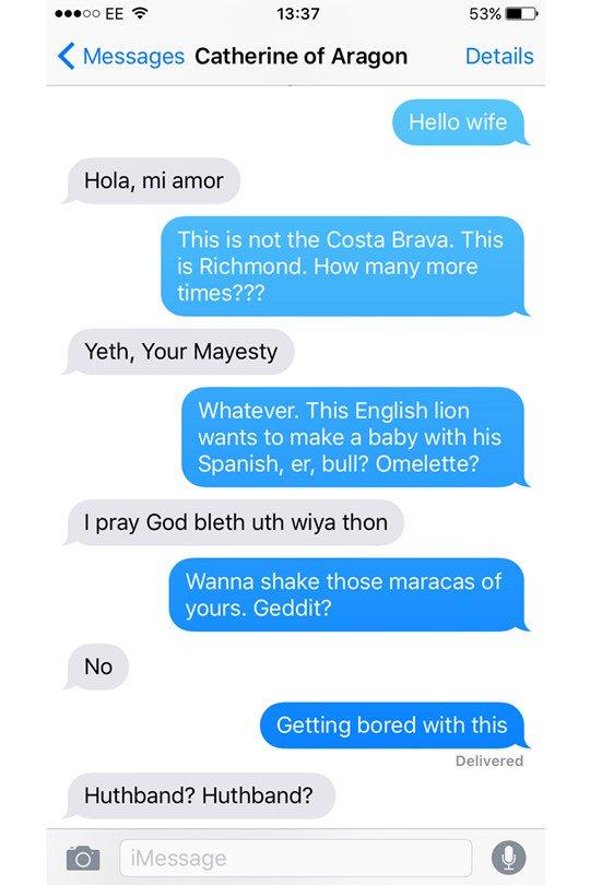 Naughty sexting