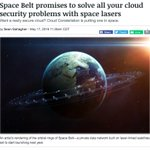 Earthly clouds are so late 00s; you want storage in the Space cloud. https://t.co/jQScelFiYA https://t.co/uxwvJdM9kw