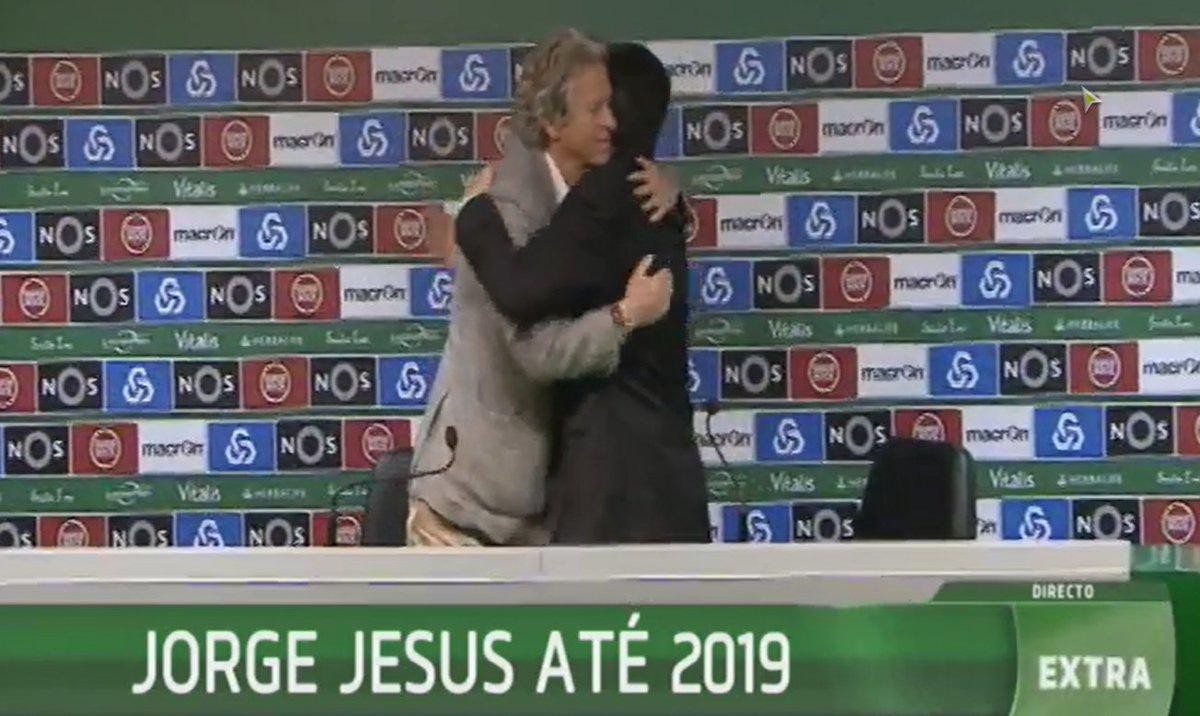 Jorge Jesus no @Sporting_CP até 2019 https://t.co/yhmfWoizcl