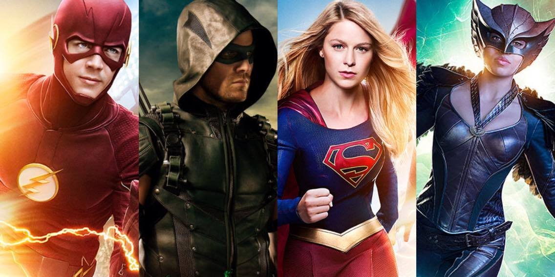 Mon 8 PM: #Supergirl  Tues 8 PM: #TheFlash Wed 8 PM: #Arrow Thur 8 PM: #LegendsOfTomorrow  @GBerlanti TV RULES #DCTV https://t.co/n5fRQNx2NC