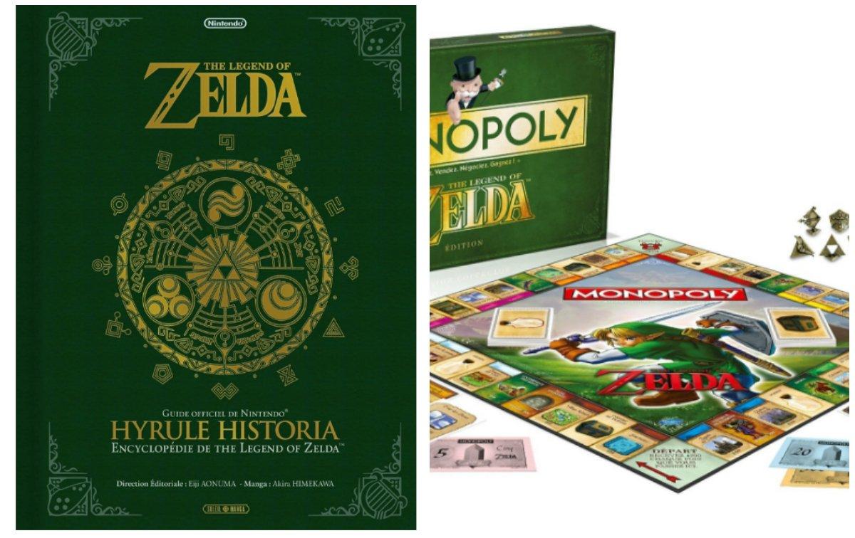 Avis aux fans de Zelda ! Rt + Follow pour gagner : - un Monopoly Zelda - un livre Hyrule Historia  Fin le 26/05 14h https://t.co/xS9kRskbmf