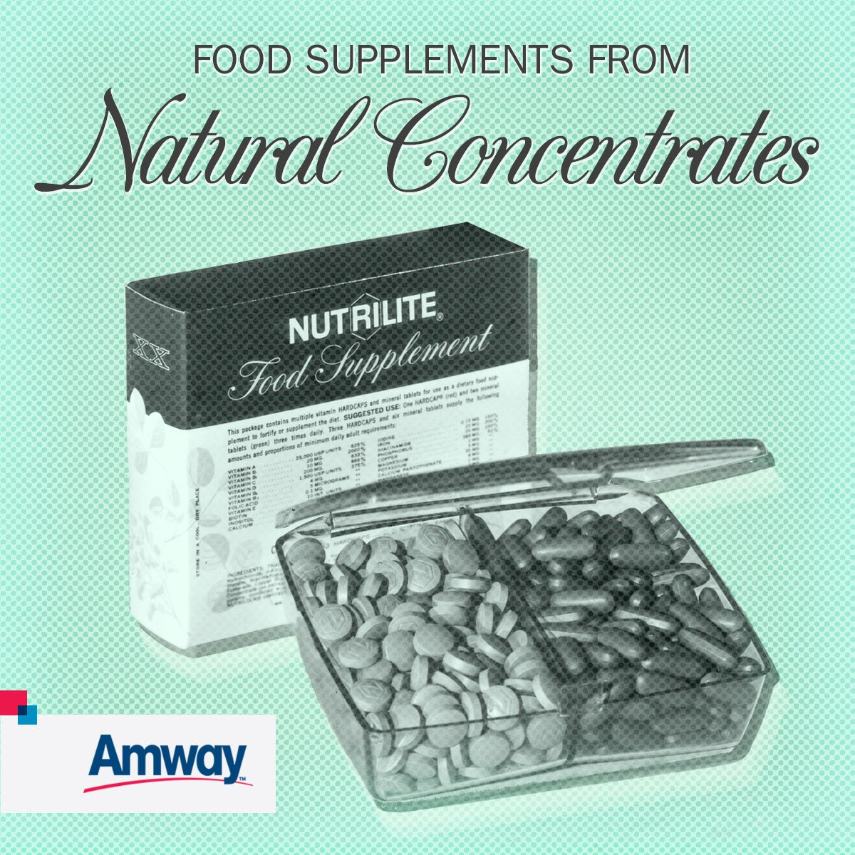 ONE SUPPLEMENT, MANY ESSENTIALS: We created Double X in 1948. Today, it's the top selling #Nutrilite product! #TBT https://t.co/SQheMCEsqH