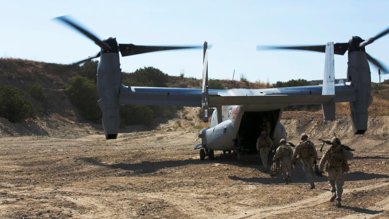 First 3-D Printed MV-22 Osprey Parts to Fly in Coming Months https://t.co/JUXaxNHrfR via @Militarydotcom's @HopeSeck https://t.co/KoTho6Jeba