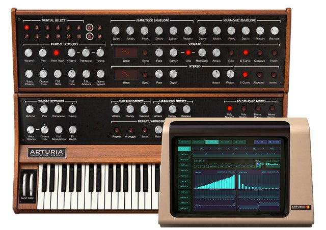 Arturia brings $200k Synclavier to the new V Collection 5: @arturiaofficial https://t.co/BpFWq54wXK https://t.co/kzWhSBk0Gk