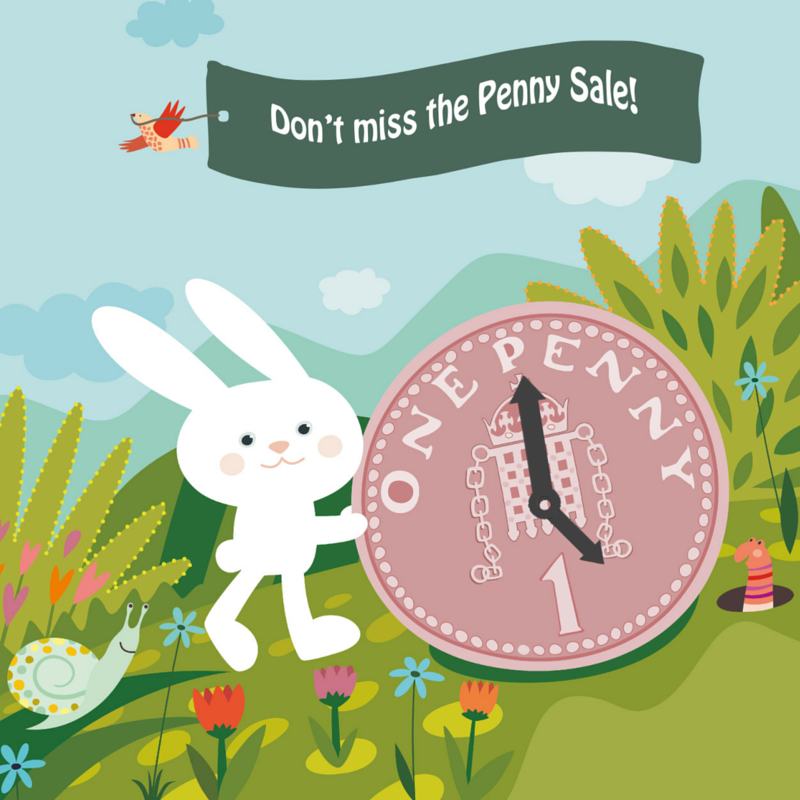 12 hours left of the #pennysale! See what bargains you can get your hands on. Aaaand go! ;) https://t.co/hEUvYqz9co https://t.co/rcyyfq1mXU