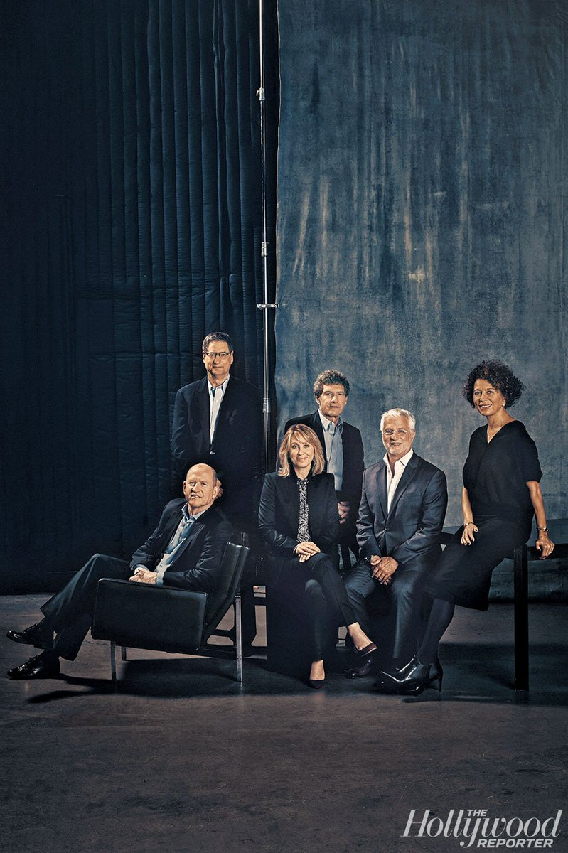 Hollywood Reporter gets LoebAwards nomination for Studio Chief Roundtable