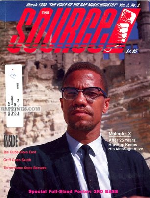 Malcolm X on the March 1990 cover of @TheSource #TBT   Any of you have this issue? https://t.co/XX5gTlLCKo