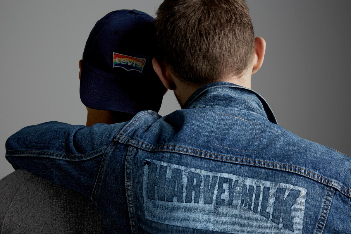 Love is in our jeans. Introducing our 2016 #Pride Collection, inspired by #HarveyMilk: https://t.co/OSZw3fUhUU https://t.co/S6httLGTW2